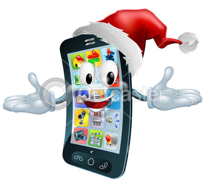 Happy-Christmas-cell-phone